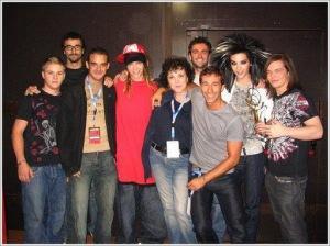 [NUEVA FOTO] Tokio Hotel – Festivalbar Backstage – Verona , Italia [07.09.2007]