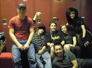 [NUEVA FOTO] Tokio Hotel – KIIS FM Jingle Ball (backstage) Anaheim, USA [06.12.2008]