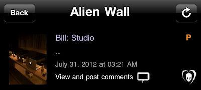 """BTK App UPDATE: Bill: """"Studio…"""""""