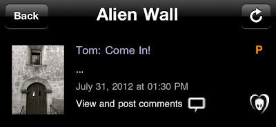 "BTK App UPDATE: Tom: ""Come in!"""