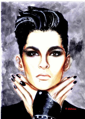 "Fan Art: ""Bill Kaulitz – Stern Magazine Photoshoot"" by didisim"