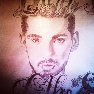 "New FanArt: ""Bill Kaulitz"" by juliraop"