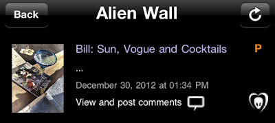 "BTK App UPDATE: Bill: ""Sun, Vogue and Cocktails…"""