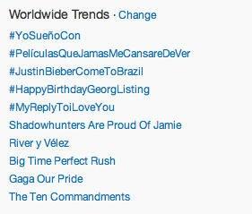 #HappyBirthdayGeorgListing Worldwide TT! [31.03.2013]