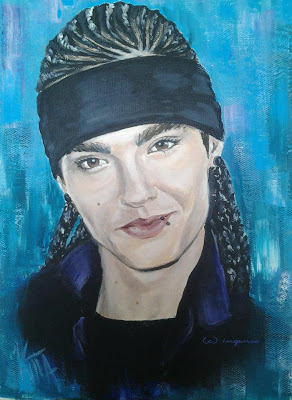 "NEW Fan Art: ""Tom Kaulitz"" by by Ingenkt"