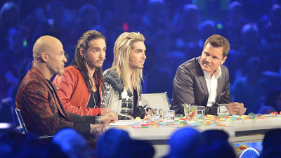 [NEW HQ PIC] Bill & Tom Kaulitz @ 3th DSDS 2013 Liveshow [30.03.2013]