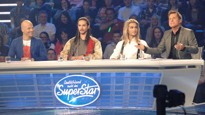 [NEW HQ PIC] Bill & Tom Kaulitz @ 2th DSDS 2013 Liveshow [23.03.2013]